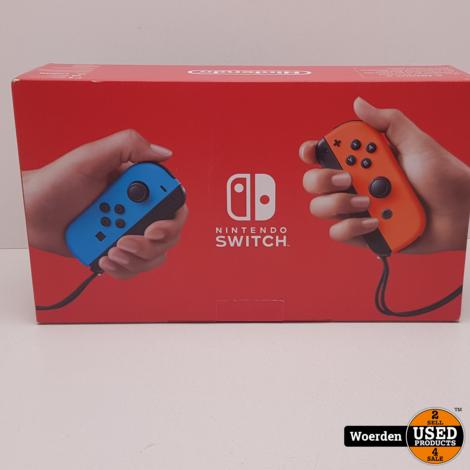 Nintendo Switch Rood Blauw NIEUW in DOOS met Garantie