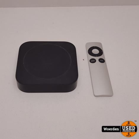 Apple TV 3 Generatie incl Afstandbediiening Met Garantie