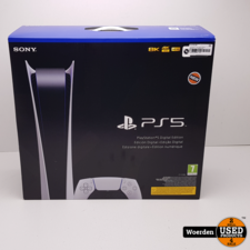 Playstation 5 PS5 Digital Edition NIEUW in Doos met Garantie
