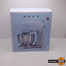 Smeg SMF01PBEU Keukenmachine Blauw NIEUW met Garantie