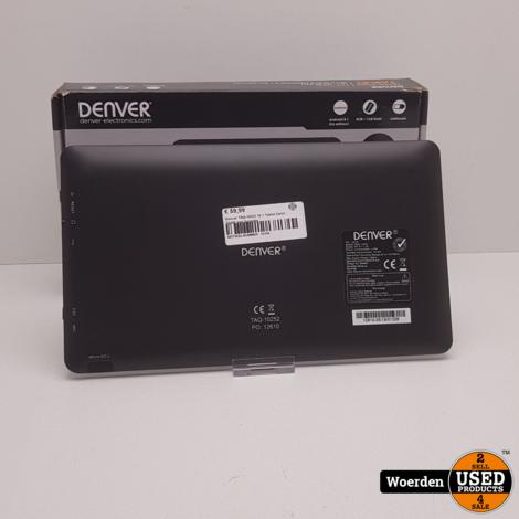 Denver TAQ-10252 10.1 Tablet Zwart ZGAN met Garantie