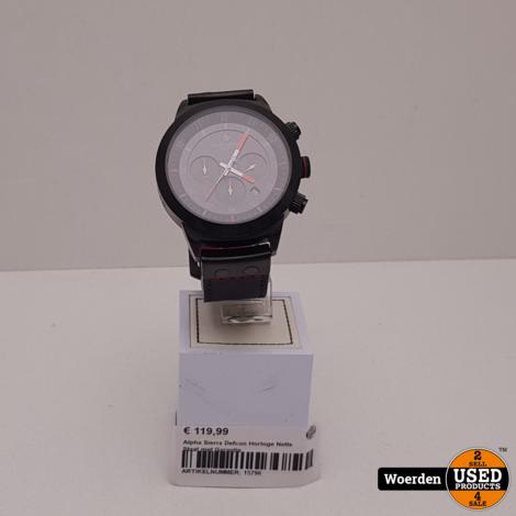 Alpha Sierra Defcon Horloge Nette Staat met Garantie