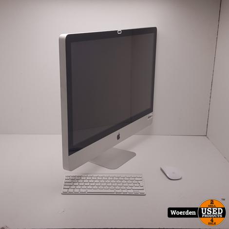 iMac 2009 27 inch i5 2.66Ghz 12GB 1TB HDD met Garantie