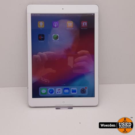 iPad Air 32GB Zilver Nette Staat met Garantie