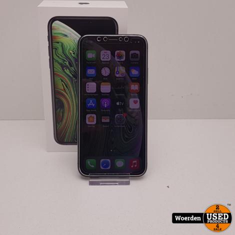 iPhone XS 64GB Space Gray Nette Staat met Garantie