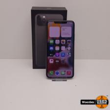 iPhone 11 Pro Max 64GB Space Gray Nette Staat met Garantie