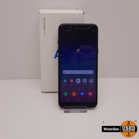 Samsung Galaxy A6 Zwart Nette Staat met Garantie