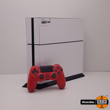 Playstation 4 500GB Wit incl Controller met Garantie