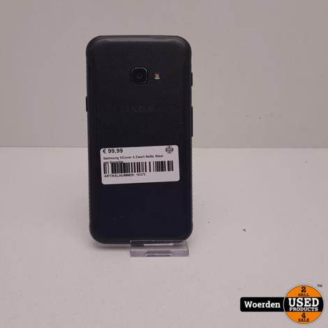 Samsung XCover 4 Zwart Nette Staat me Garantie