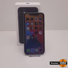 iPhone 11 64Gb Zwart Nette Staat met Garantie