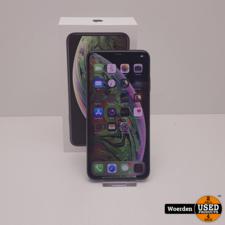 iPhone XS Max 64Gb Space Grey Accu 91% met Garantie