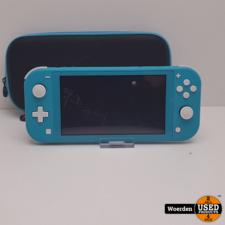 Nintendo Switch Lite Groen Nette Staat incl Hoes met Garantie