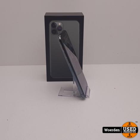 iPhone 11 Pro 64GB Midnight Green Nette Staat met Garantie