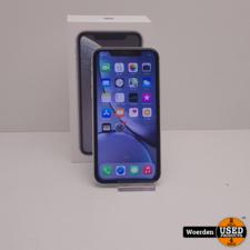 iPhone XR 64GB Wit Accu 97% Nette Staat met Garantie