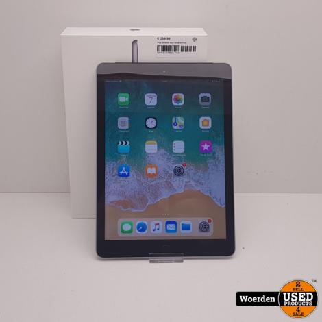 iPad 2018 6th Gen 32GB WiFI 4G Space Gray met Garantie