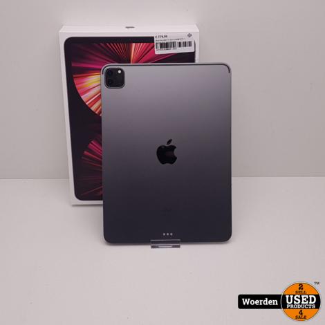 iPad Pro 2021 11 inch 128GB WiFi 1 Maand Oud met Garantie
