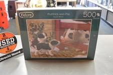 Falcon Falcon deluxe Puppies & Pigs Puzzle 500 pc | Nieuw