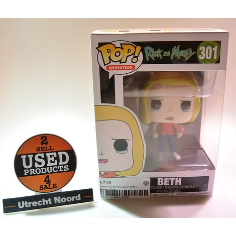 Funko Pop! 301 Animation  Beth | Nieuw in Doos