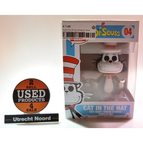 Funko Pop! 04 Vinyl Books Dr. Seuss Cat in The Hat | Nieuw in Doos