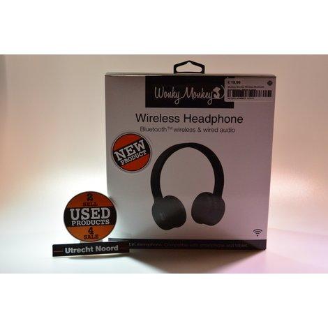Wonkey Monkey Wireless Bluetooth Koptelefoon | Nieuw in Doos