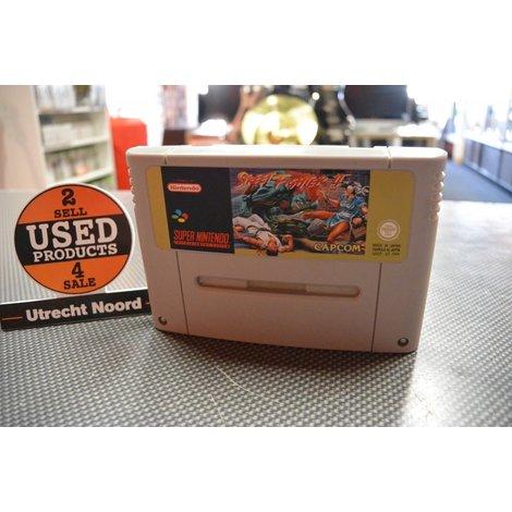 Street Fighter 2 | Super Nintendo | Losse Cassette