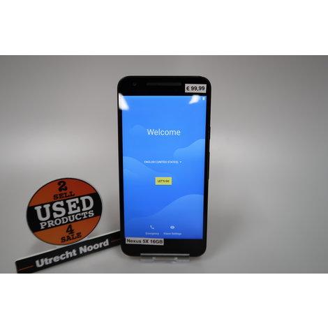 LG Nexus 5X 16GB Black | in Redelijke Staat