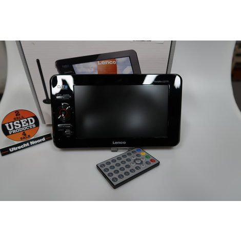 Lenco TFT-725 7-inch Portable LCD TV | in Goede Staat