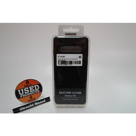 Samsung Silicone Cover Galaxy S10 Black | Nieuw