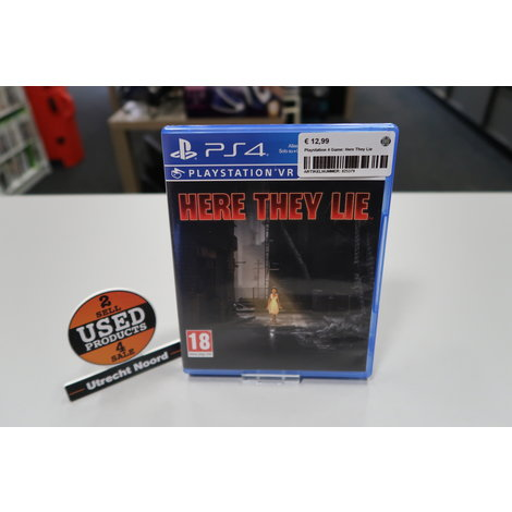 Playstation 4 Game: Here They Lie