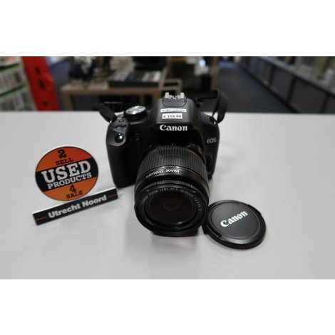 Canon EOS 500D 18-55mm 15MP Camera | in Prima Staat