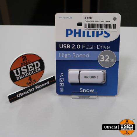 Philips 32GB USB 2.0 Stick | Nieuw