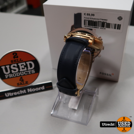 Fossil Q Explorist FTW4002 Smartwatch | in Nette Staat