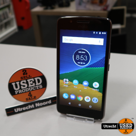 Motorola G5 16GB Dual-Sim Black | in Prima Staat
