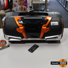 Lenco SCD-2000 BT Bluetooth Boombox | in Prima Staat
