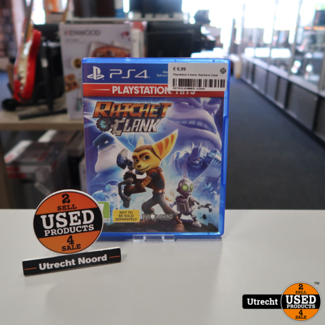 Playstation 4 Game: Ratchet & Clank
