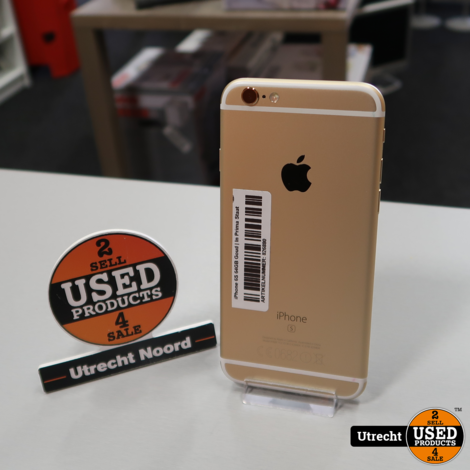 iPhone 6S 64GB Gold | In Prima Staat