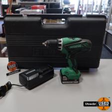 Hitachi DS14DJL 14V 1,5Ah Accuboormachine | in Prima Staat
