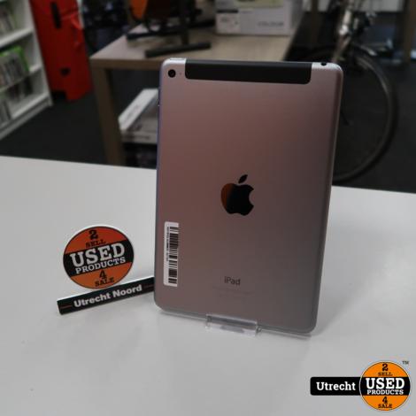 iPad Mini 4 64GB 4G+Wifi Space Gray | in Nette Staat