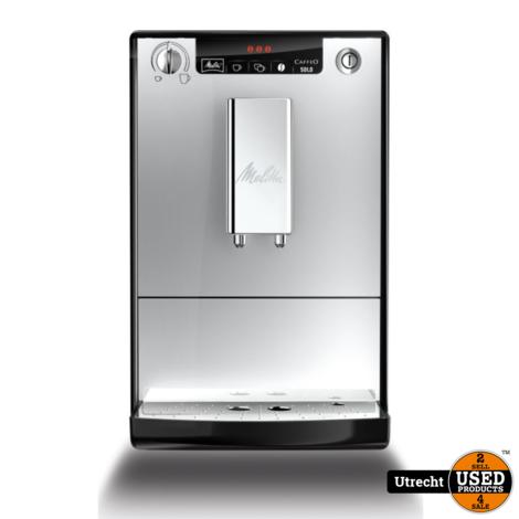 Melitta Solo E950-103 Silver Espressomachine   Nieuw in Doos