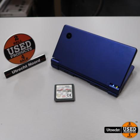 Nintendo DSi Blauw + Mario Kart DS | In Redelijke Staat