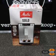 Melitta Solo E 950-333 Deluxe Black Espressoapparaat | Nieuw in Doos