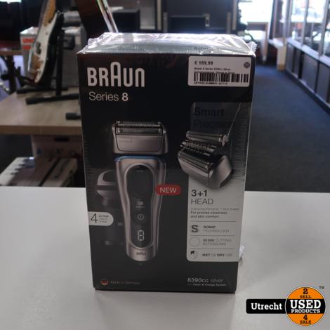 Braun Series 8 8390cc Shaver   Nieuw in Seal