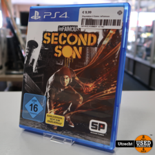 Playstation 4 Game: inFamous Second Son