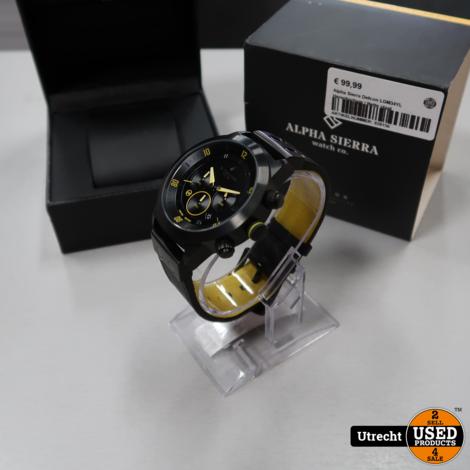 Alpha Sierra Defcon LGM34YL Herenhorloge | Nette staat