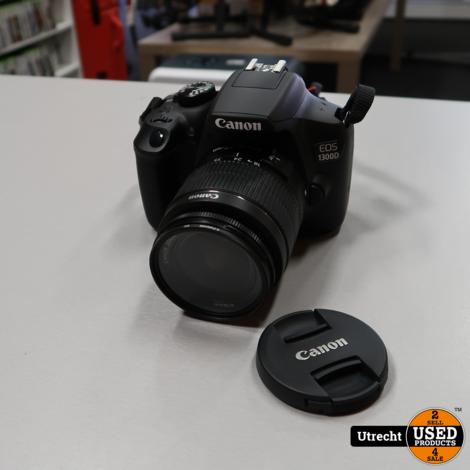 Canon EOS 1300D 18.7MP Spiegelreflex met 18-55mm Lens