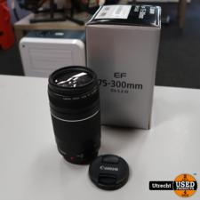 Canon EF 75-300mm 1:4-5.6 III Lens | in Zeer Nette Staat