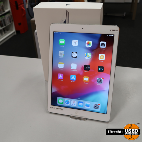 iPad Air 16GB Silver Wifi | in Prima Staat