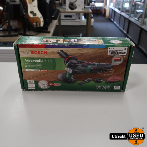 Bosch Advanced Multi 18 Multitool Body | Nieuw in Doos