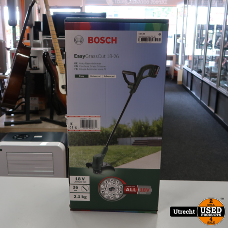 Bosch Easy GrasssCut 18-26 18V Accu Grasmaaier   Nieuw