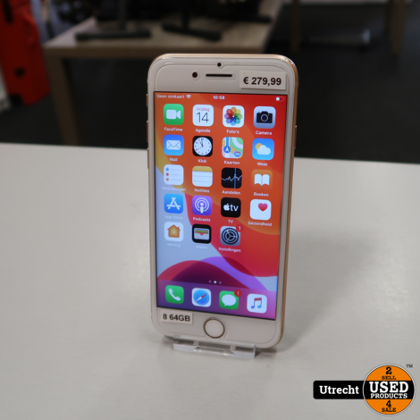 iPhone 8 64GB Rose Gold | in Nette Staat